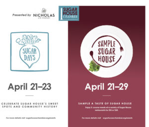 Sugar Days Sample Sugar House April 21-29
