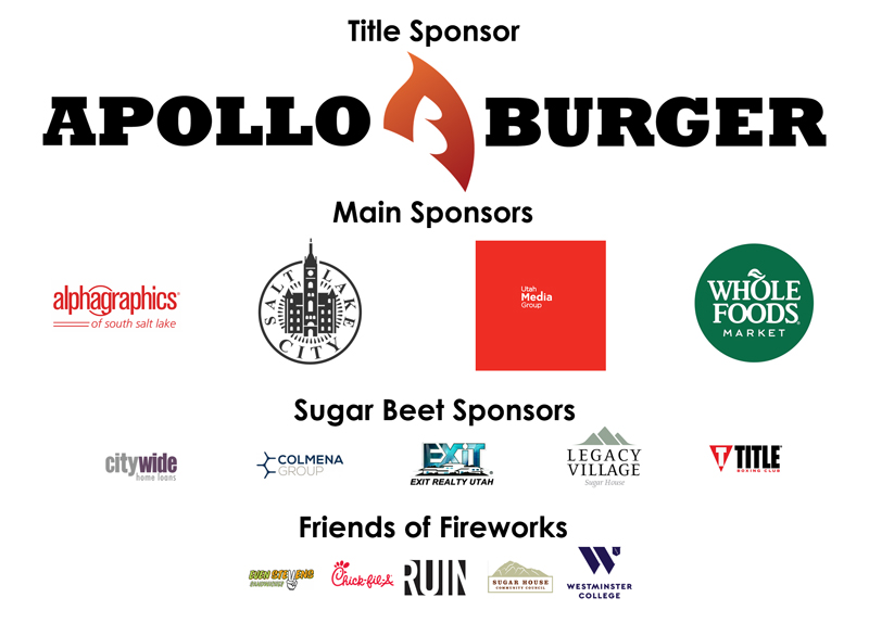 Thank you to our many event sponsors